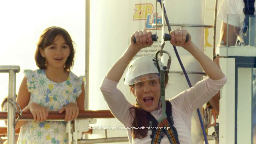 Royal Caribbean Cruise Lines TV Spot, 'Zip Line' Song by Flo Rida - Screenshot 3