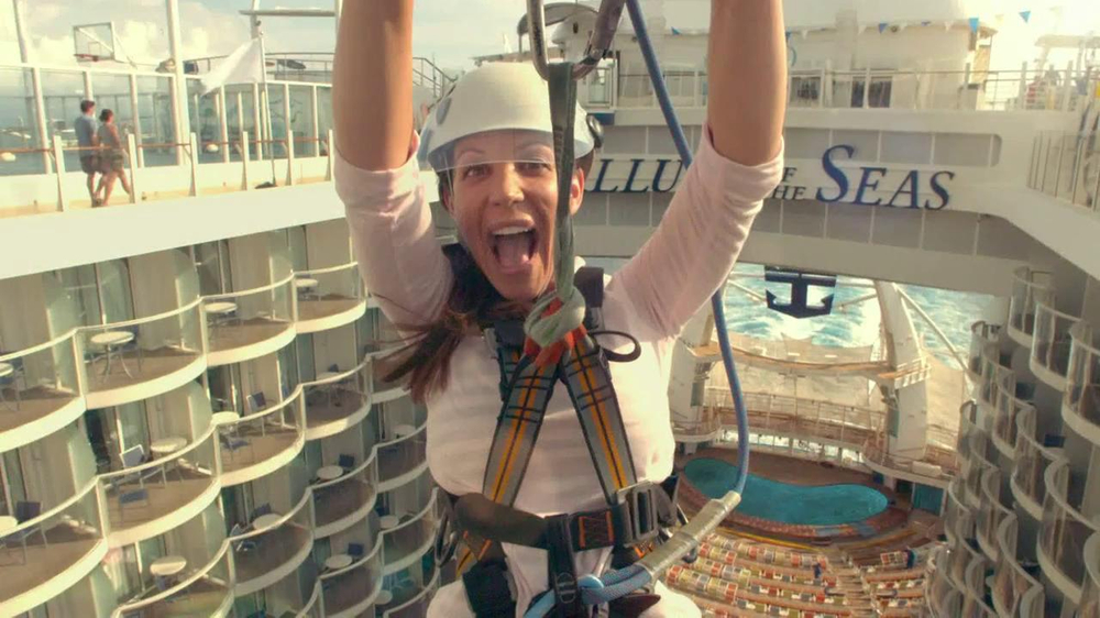 Royal Caribbean Cruise Lines TV Spot, 'Zip Line' Song by Flo Rida - Screenshot 4