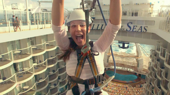 Royal Caribbean Cruise Lines TV Spot, 'Zip Line' Song by Flo Rida - Thumbnail 4