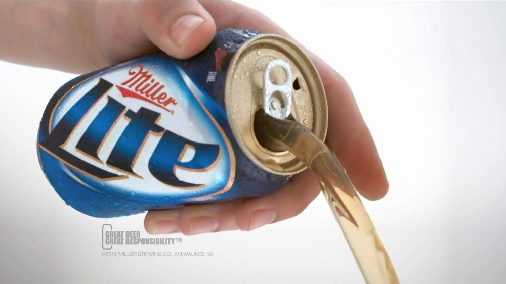 Miller Lite Punch Top Can TV Spot, 'Let it Flow' - Screenshot 10
