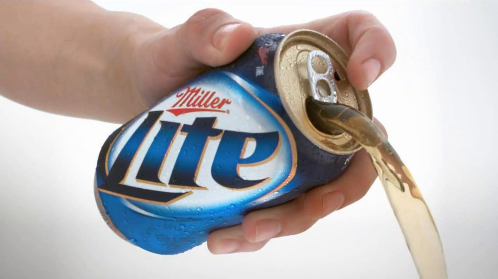 Miller Lite Punch Top Can TV Spot, 'Let it Flow' - Screenshot 6