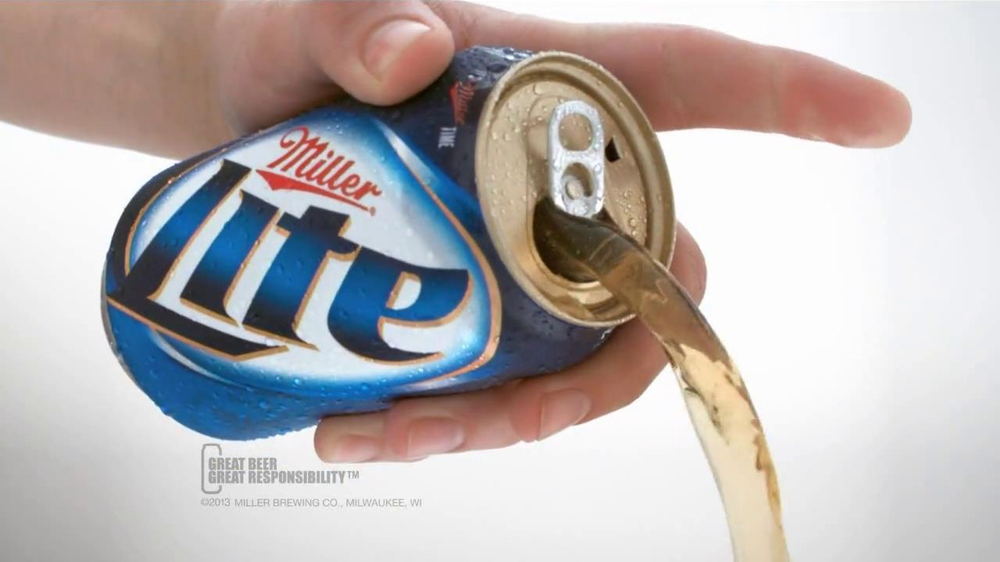 Miller Lite Punch Top Can TV Spot, 'Let it Flow' - Screenshot 9