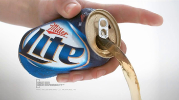 Miller Lite Punch Top Can TV Spot, 'Let it Flow'