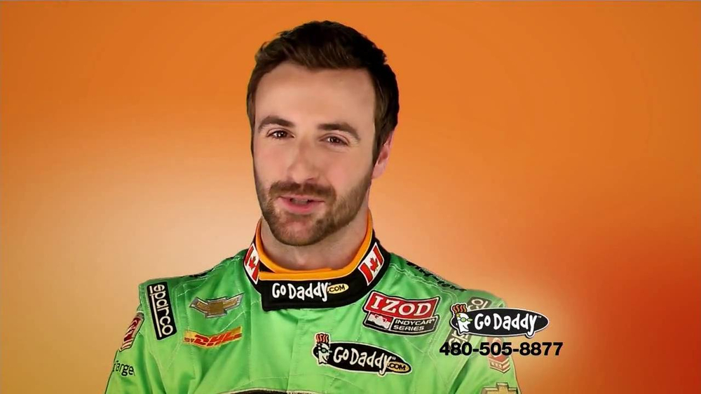 Go Daddy TV Spot, 'Sexy Side' Feat. James Hinchcliffe - Screenshot 9