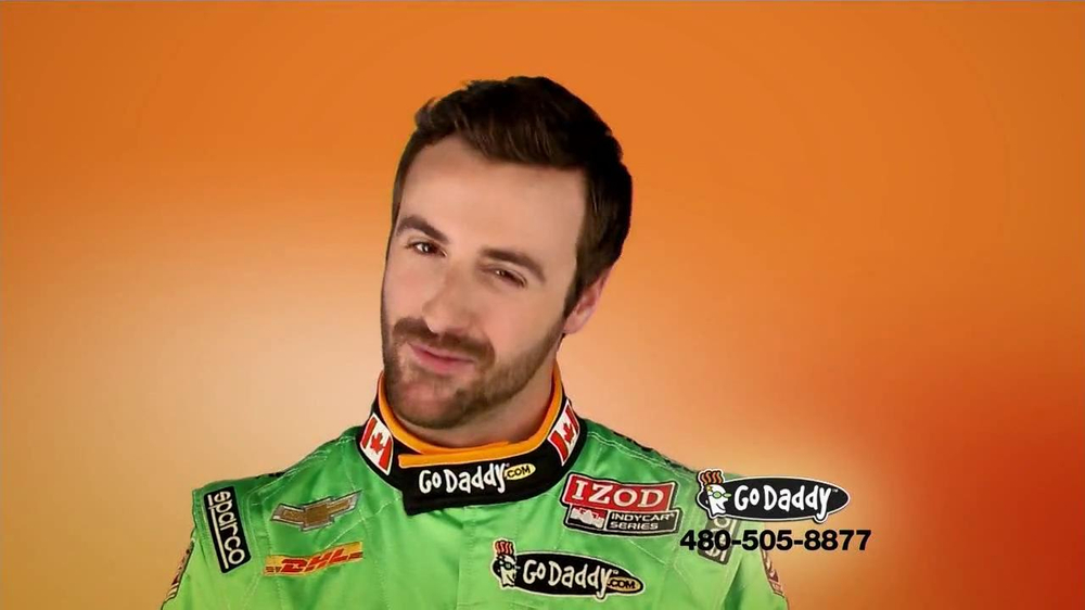 Go Daddy TV Spot, 'Sexy Side' Feat. James Hinchcliffe - Screenshot 3