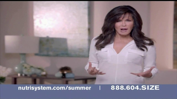 Nutrisystem TV Spot, 'Summer Ready Body' Featuring Marie Osmond