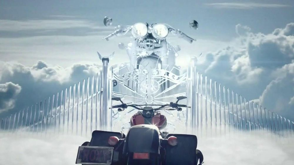 Progressive TV Spot, 'Motorcycle Heaven' - Screenshot 9