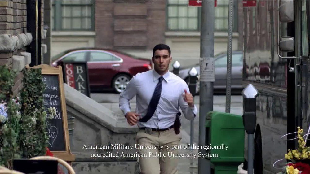 American Military University TV Spot, 'Many Careers' - Screenshot 7