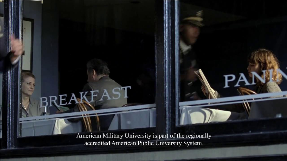 American Military University TV Spot, 'Many Careers' - Screenshot 8