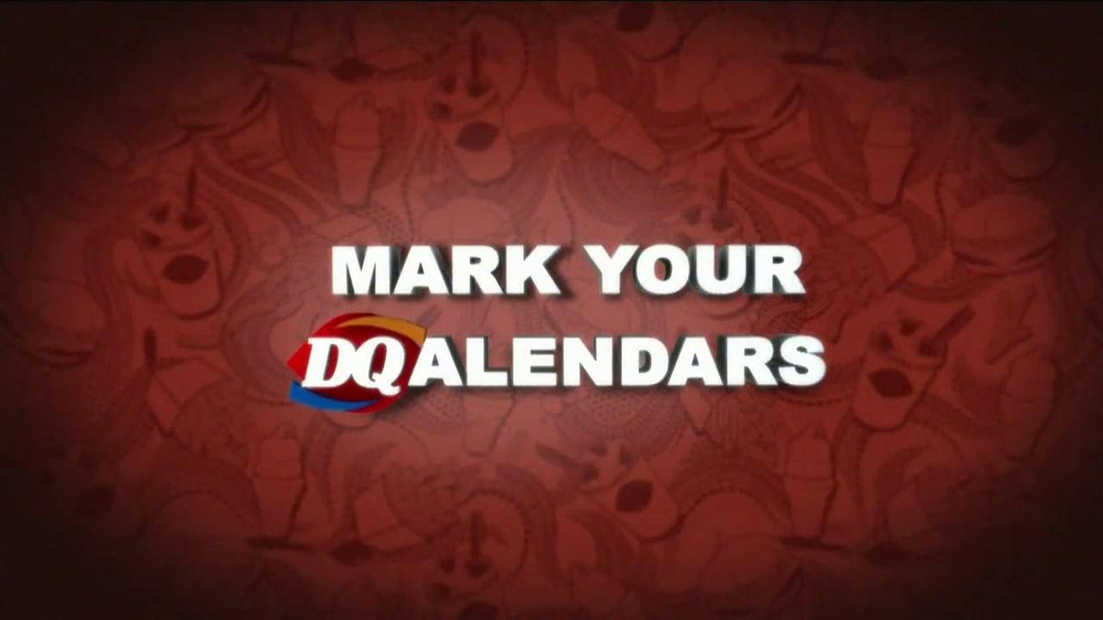 Dairy Queen $5 Buck Lunch TV Spot, 'Mark Your DQalendar' - Screenshot 1