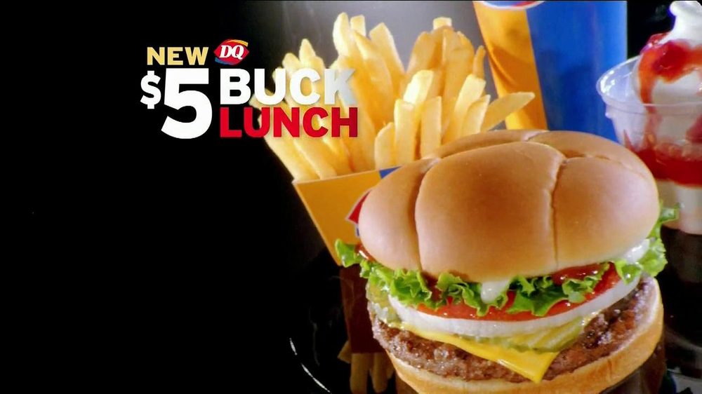 Dairy Queen $5 Buck Lunch TV Spot, 'Mark Your DQalendar' - Screenshot 2
