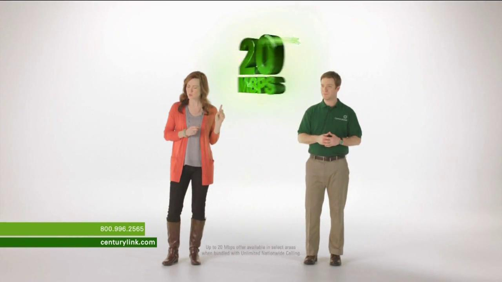 CenturyLink TV Spot, 'Totally Switching' - Screenshot 1