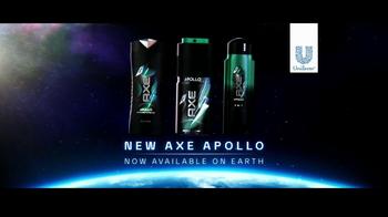 Axe Apollo TV Spot, 'Landing' thumbnail