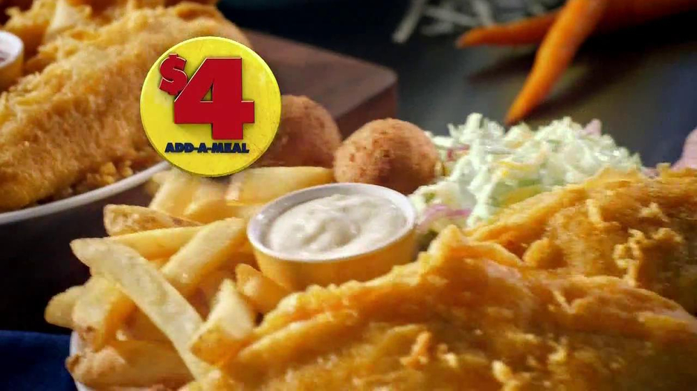 Long John Silver's $4 Add-A-Meal TV Spot - Screenshot 2
