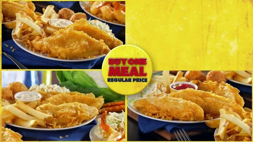 Long John Silver's $4 Add-A-Meal TV Spot - Screenshot 4
