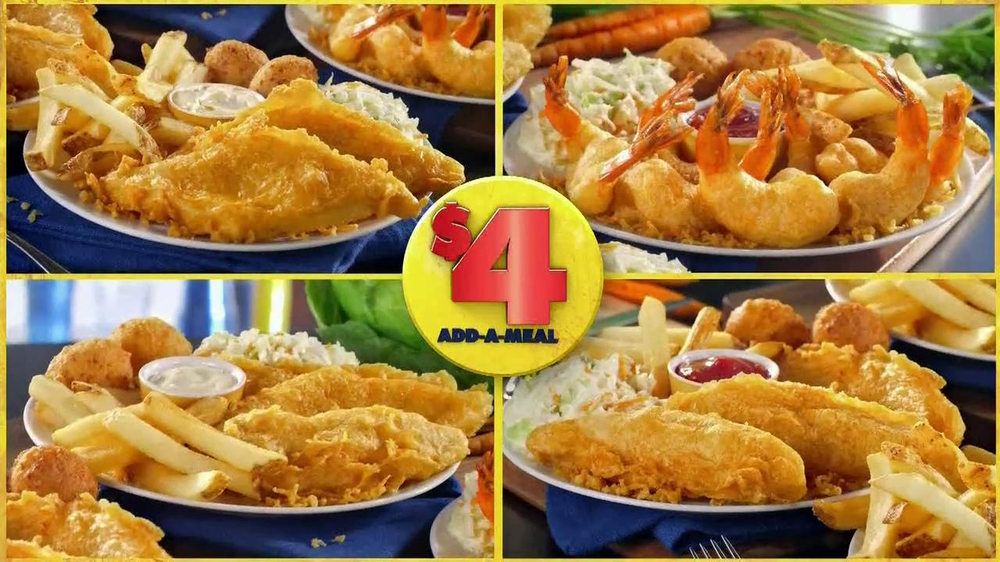 Long John Silver's $4 Add-A-Meal TV Spot - Screenshot 5