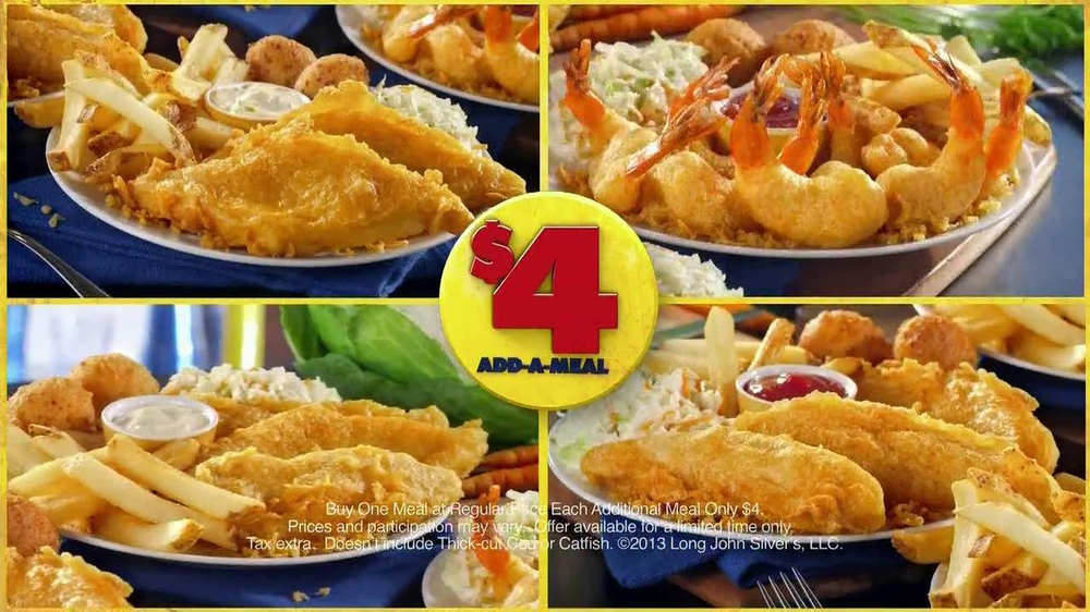 Long John Silver's $4 Add-A-Meal TV Spot - Screenshot 8