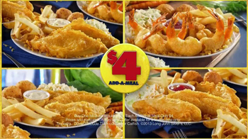 Long John Silver's $4 Add-A-Meal TV Spot - Thumbnail 8