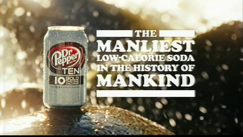 Dr. Pepper 10 TV Spot, 'No Man's Land' - Screenshot 9