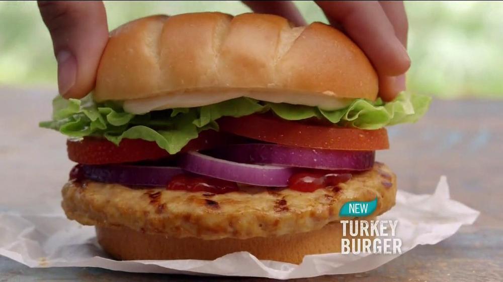 Burger King Bacon Cheddar Stuffed Burger TV Commercial, 'BurgerFest ...