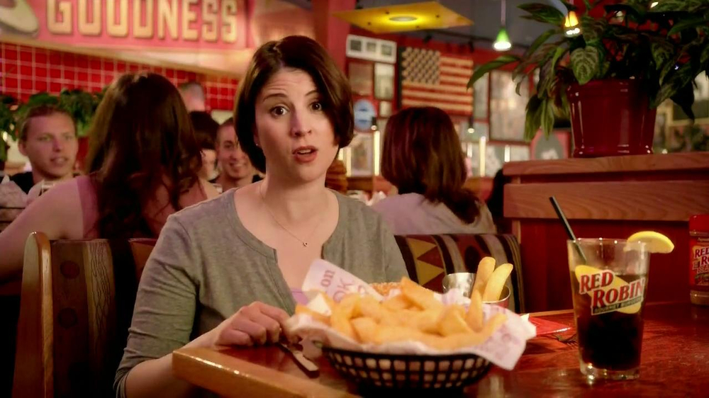 Red Robin Bottomless Steak Fries TV Spot, 'Booyah' - Screenshot 5