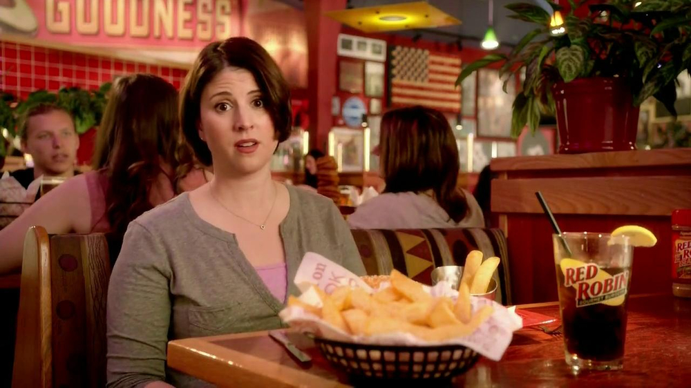 Red Robin Bottomless Steak Fries TV Spot, 'Booyah' - Screenshot 6