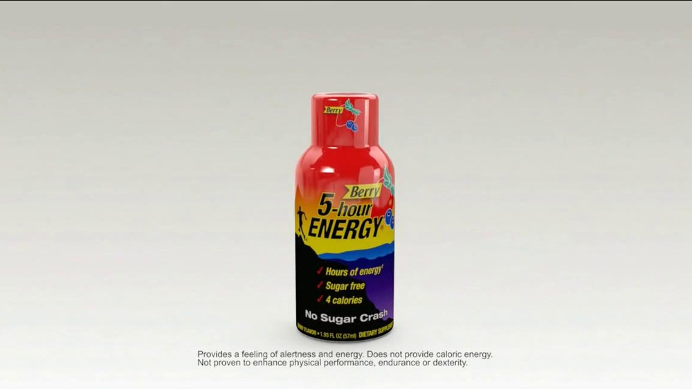5 Hour Energy Hookup An Actress