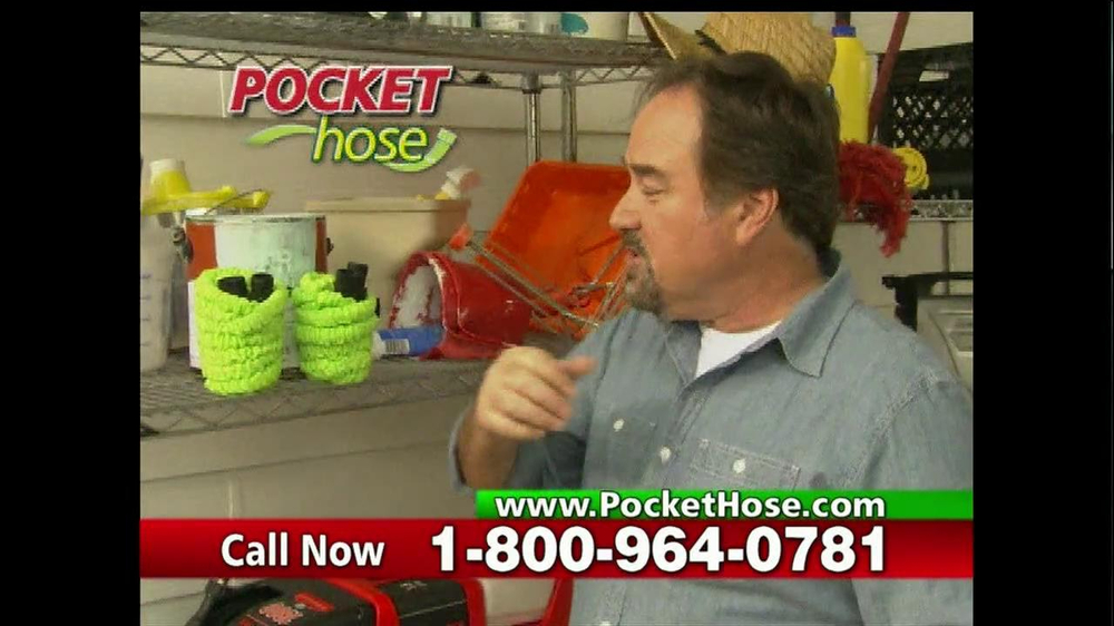 Pocket Hose TV Spot Featuring Richard Karn - Screenshot 9