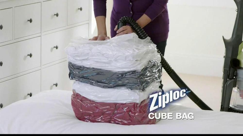 Ziploc Cube Bag Amp Flat Bag Tv Commercial Organized