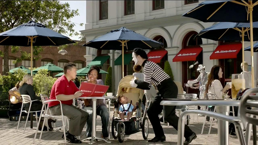 State Farm TV Spot, 'Talking Mime' - Screenshot 2
