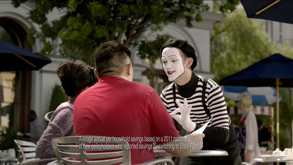 State Farm TV Spot, 'Talking Mime' - Screenshot 3