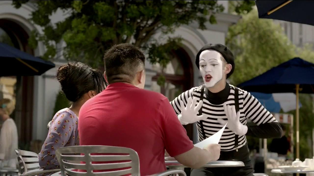 State Farm TV Spot, 'Talking Mime' - Screenshot 4