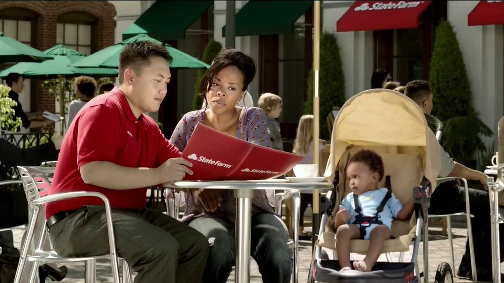 State Farm TV Spot, 'Talking Mime' - Screenshot 6