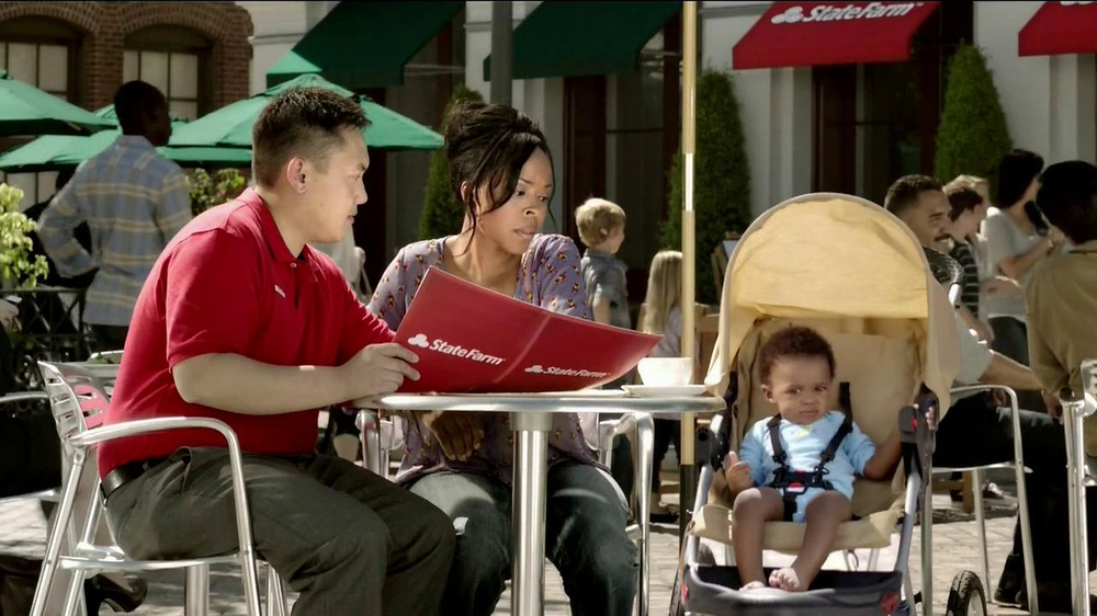 State Farm TV Spot, 'Talking Mime' - Screenshot 7