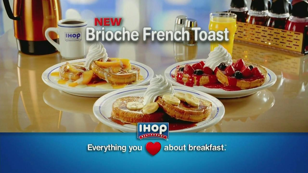 Banana French Toast Ihop Ihop Brioche French Toast tv