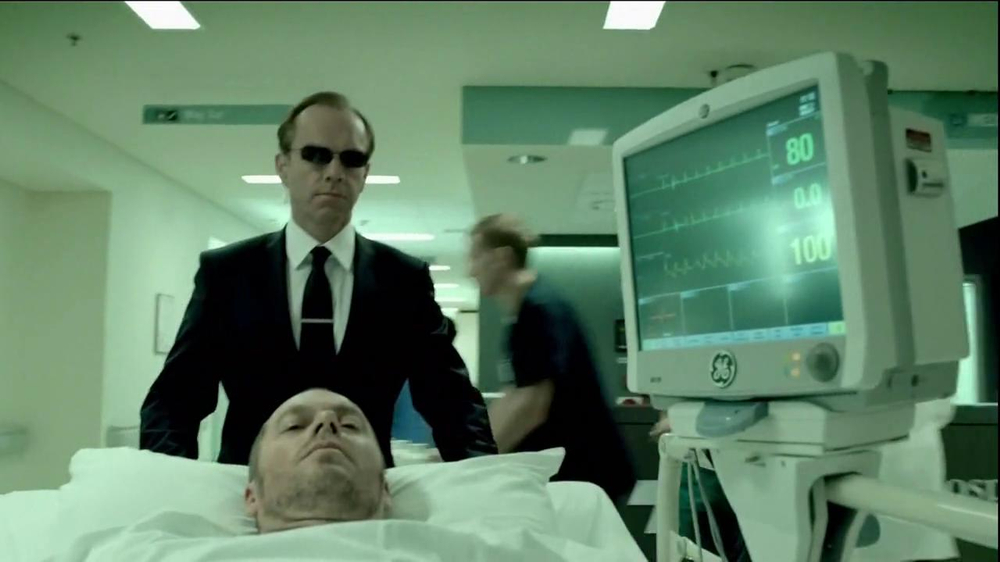 General Electric TV Spot, 'Agent of Good' Featuring Hugo Weaving - Screenshot 4