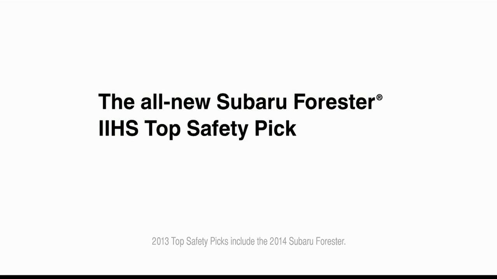 Subaru Forester TV Spot, 'Grew Up in the Backseat' - Screenshot 10