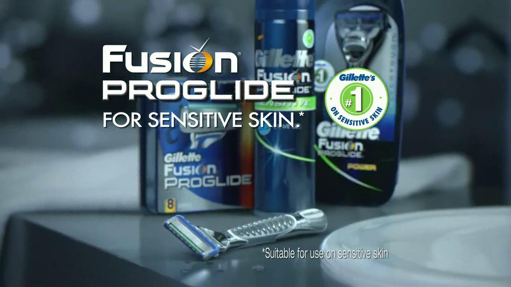 Gillette Fusion ProGlide TV Spot, 'Boxing' - Screenshot 10