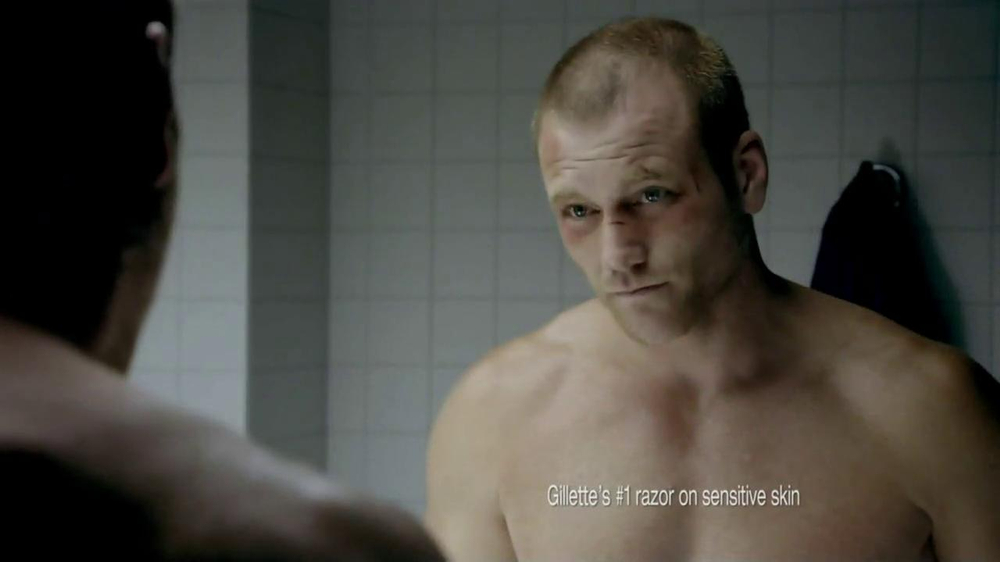 Gillette Fusion ProGlide TV Spot, 'Boxing' - Screenshot 4