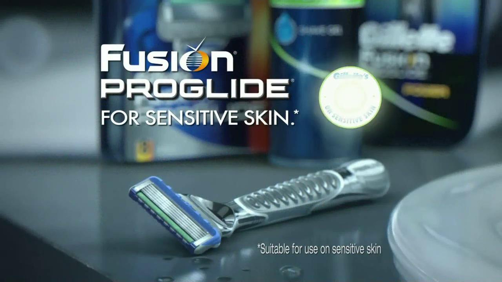 Gillette Fusion ProGlide TV Spot, 'Boxing' - Screenshot 9