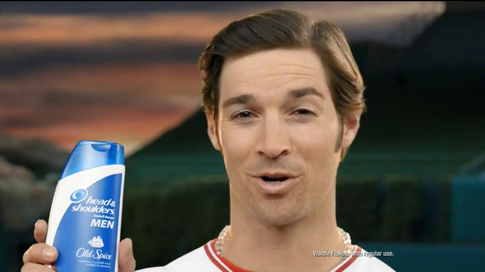 Head & Shoulders with Old Spice TV Spot, 'Microphone' Feat. C.J. Wilson - Screenshot 2