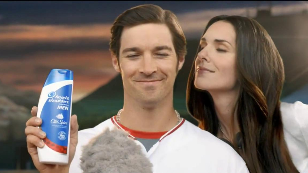 Head & Shoulders with Old Spice TV Spot, 'Microphone' Feat. C.J. Wilson - Screenshot 3