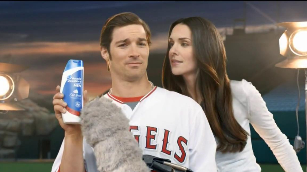 Head and Shoulders with Old Spice TV Spot, 'Microphone' Feat. C.J. Wilson - Screenshot 6