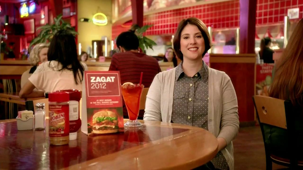 Red Robin TV Spot, 'Zagat #1 Burger' - Screenshot 1