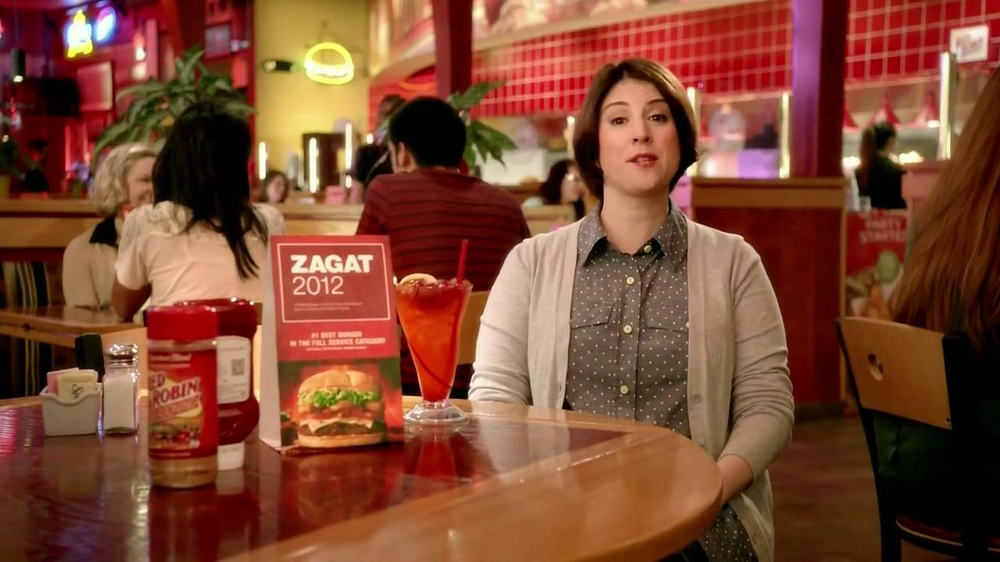 Red Robin TV Spot, 'Zagat #1 Burger' - Screenshot 2