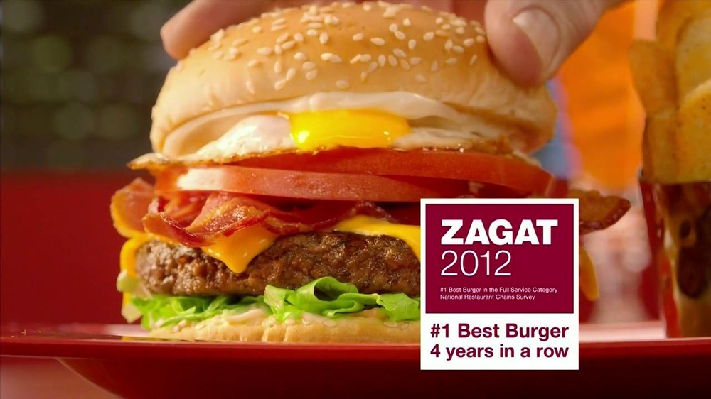 Red Robin TV Spot, 'Zagat #1 Burger' - Screenshot 4