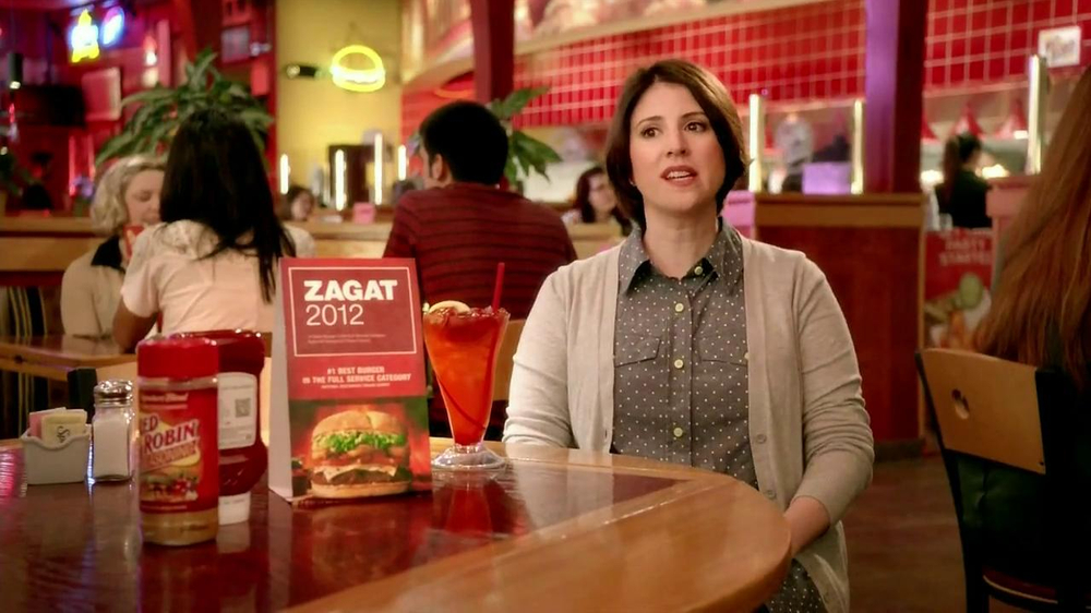 Red Robin TV Spot, 'Zagat #1 Burger' - Screenshot 5