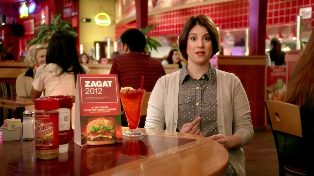 Red Robin TV Spot, 'Zagat #1 Burger' - Screenshot 6