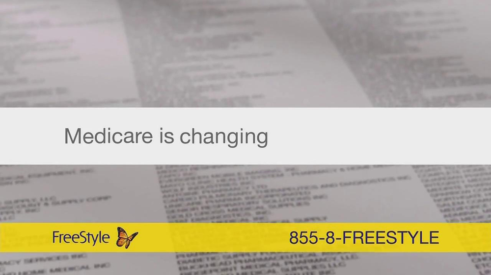 FreeStyle Freedom Lite TV Spot, 'Medicare' - Screenshot 3