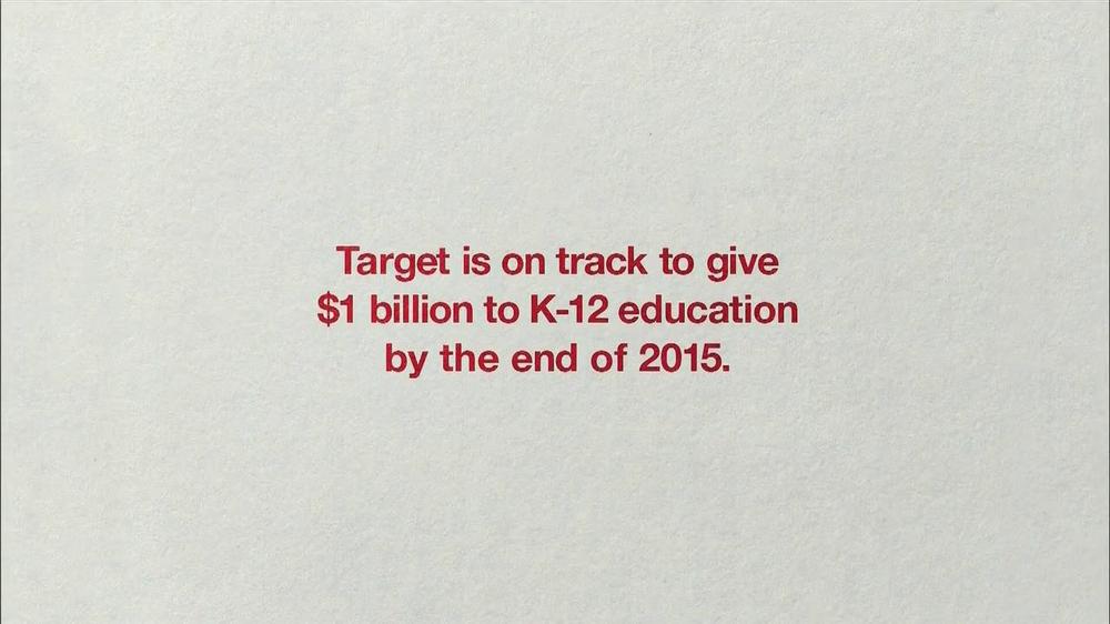 Target TV Spot, 'Scholarships' - Screenshot 10